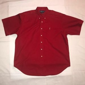 Ralph Lauren - Button Down Short Sleeve - Size XL